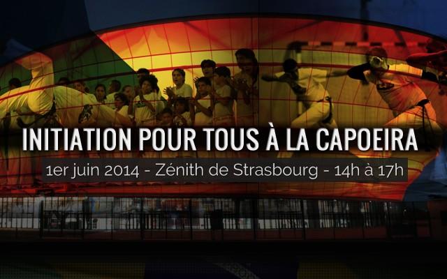 Capoeira au zénith de Strasbourg