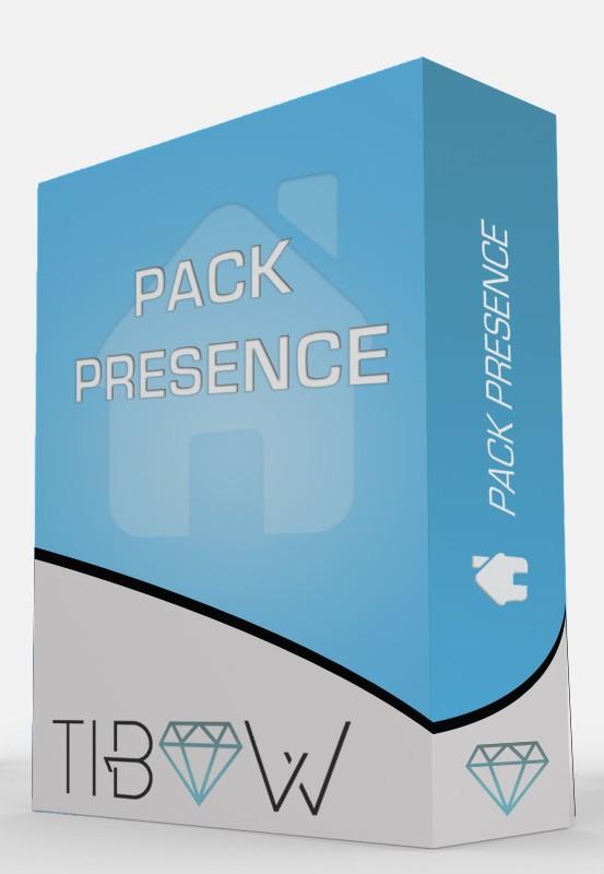 Pack Présence - Tibow Webdesign