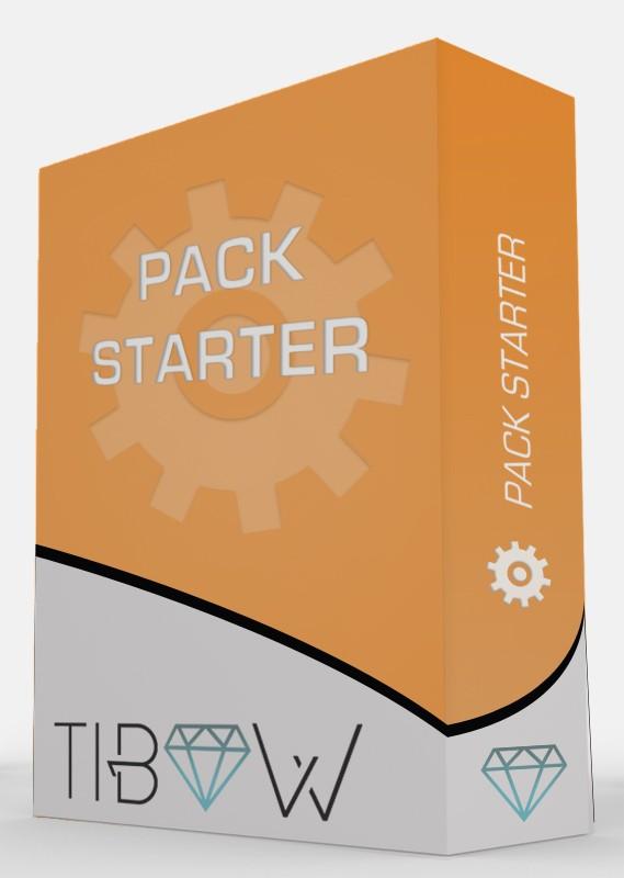 Pack Starter - Tibow Webdesign