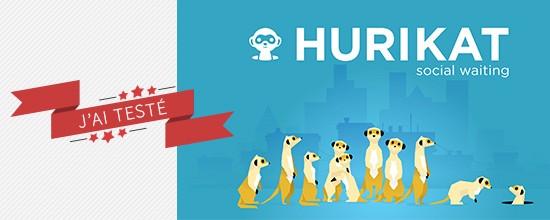 J'ai testé Hurikat – L'appli communautaire des files d'attentes