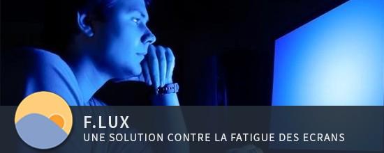f.lux : une solution contre la fatigue des écrans