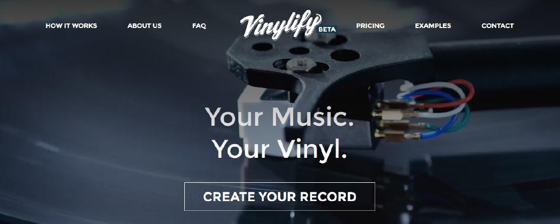 Vinylify : création de vinyles personnalisés