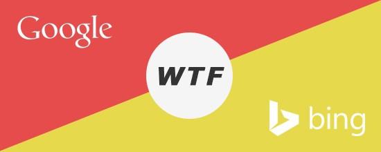 ABC.WTF  : quand Bing troll le lancement de Google Alphabet