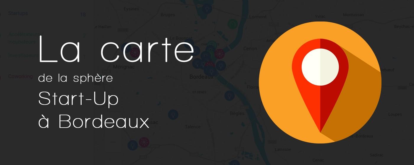 La sphère start up à Bordeaux Métropole