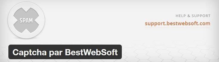 Renforcez l'accès via votre page de connexion - Captcha By BestWebSoft