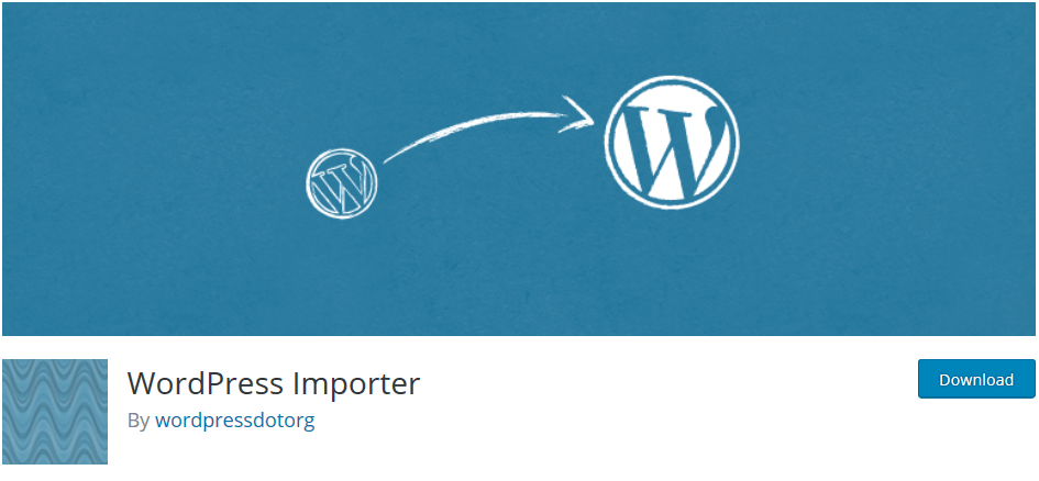 Extension WordPress Importer
