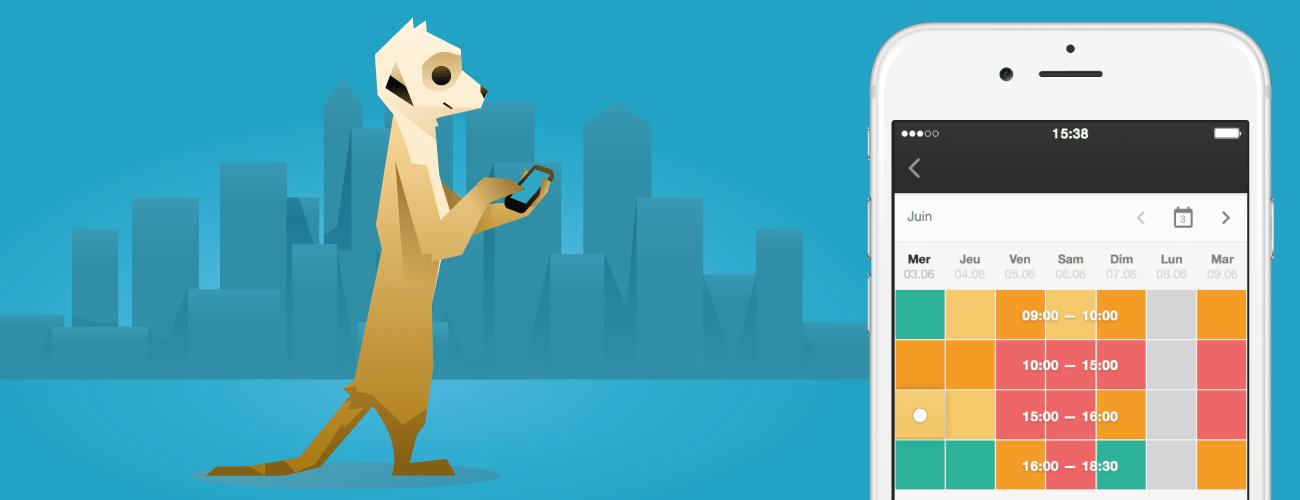 Hurilat iOS horaires pleins et vides