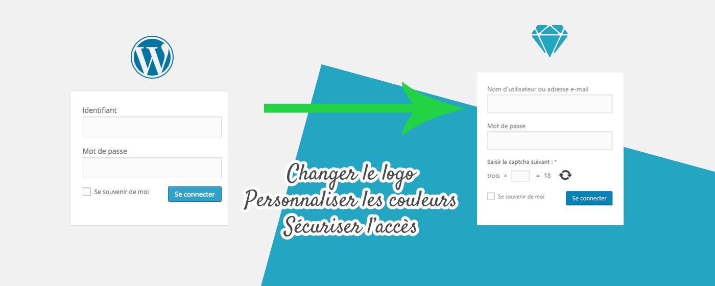 Personnaliser son logo de connexion WordPress