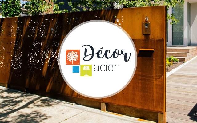 d cor acier cr ation du web design tibow webdesign. Black Bedroom Furniture Sets. Home Design Ideas