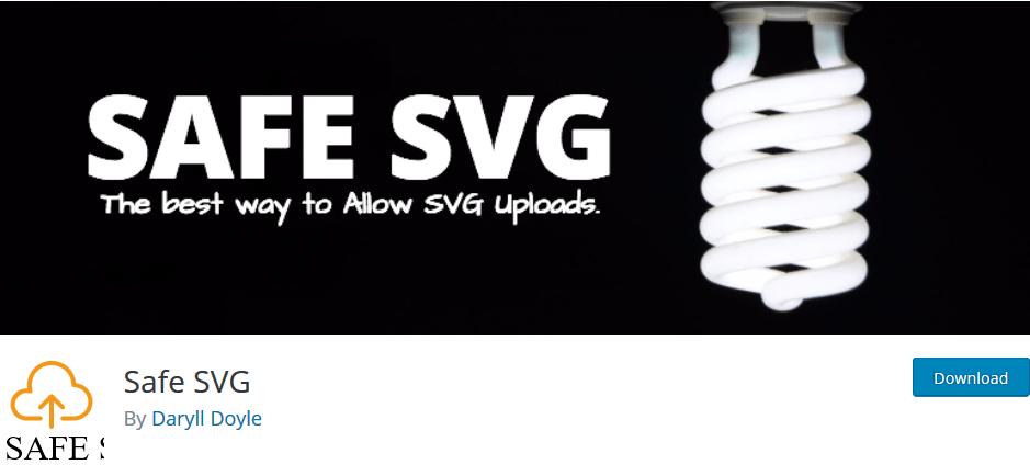 Télécharger Safe SVG pour WordPress